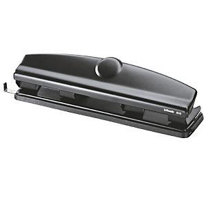Esselte Perforateur de bureau 4 trous - 10 feuilles - Noir