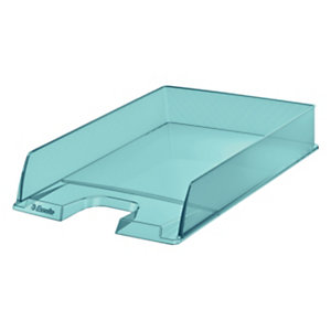 Esselte Portacorrispondenza Colour'Ice, Polistirene, 254 x 350 x 61 mm, Blu traslucido