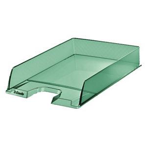 Esselte Portacorrispondenza Colour'Ice, Polistirene, 254 x 350 x 61 mm, Verde traslucido