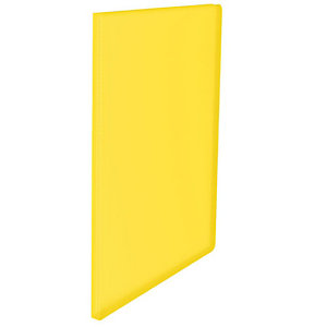 """Esselte Portalistini da 40 buste in PPL """"Linea Vivida"""" - Colore Giallo Vivida - F.to utile 22 x 30 cm."""