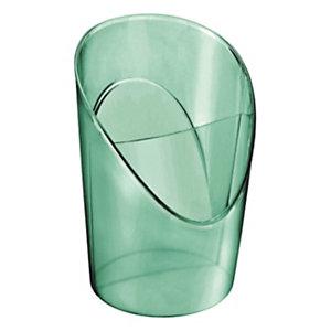 Esselte Portaoggetti multifunzionale Colour'Ice, Polistirene, 100 x 90 x 125 mm, Verde traslucido