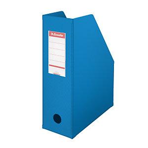 Esselte Porte-revues A4 Vivida - PVC - dos 10 cm - bleu