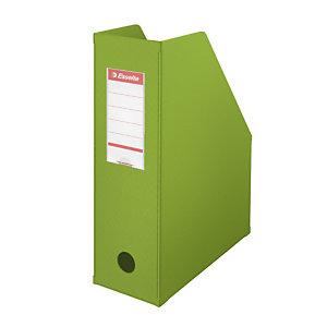 Esselte Porte-revues A4 Vivida - PVC - dos 10 cm - vert