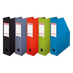 Esselte Porte-revues A4 Vivida - PVC - dos 7 cm - assortis classique