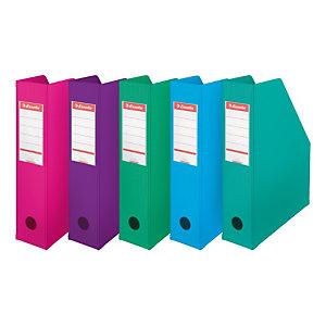 Esselte Porte-revues A4 Vivida - PVC - dos 7 cm - assortis pastel