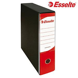 Esselte Registratore, Formato commerciale, F.to utile cm 23 x 30 h, Dorso 8 cm, Rosso