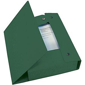 Esselte Scatola archivio Eurobox, Cartone, Verde, 350 mm x 250 mm x 60 mm