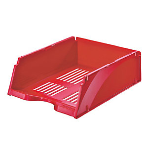 ESSELTE Vaschetta portacorrispondenza Transit Jumbo - 26,8x33,8x11,5 cm - rosso - Esselte