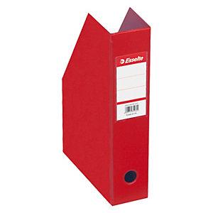 Esselte Vivida Revistero, cartón en PVC, 72 x 318 x 242 mm, rojo