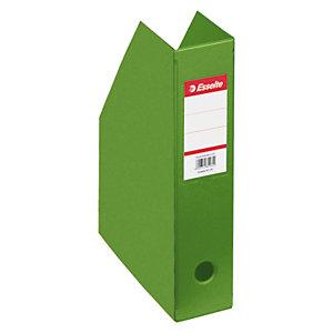 Esselte Vivida Revistero, cartón en PVC, 72 x 318 x 242 mm, verde