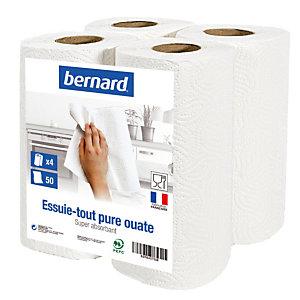 Essuie-tout Bernard, colis de 24 rouleaux