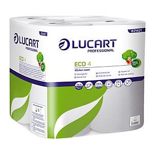 Essuie-tout Ecolucart, colis de 48 rouleaux