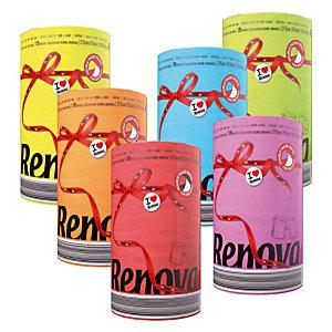 Essuie-tout Renova Color Red Label, colis de 10 rouleaux