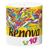 Essuie-tout Renovagreen, bobine de 240 formats##Poetsdoek Renovagreen, rol van 240 vellen