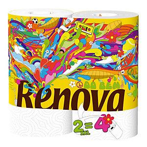 Essuie-tout Renovagreen, colis de 18 rouleaux