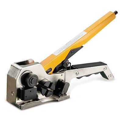 Esticador-engastador para fitas de cintar de polipropileno e poliéster STRAPEX