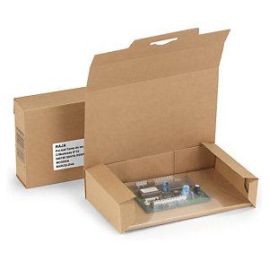 Estuche con embalaje de retención