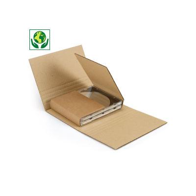 Estuche en cruz para envío CD y DVD Mediabox Standard