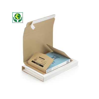 Estuche para libros con cierre adhesivo A4 RAJA®