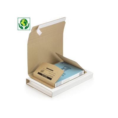 Estuche para libros con cierre adhesivo RAJABOOK Standard A4