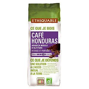 Ethiquable Café moulu Café Honduras, Arabica, sachet, 250 g
