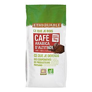 Ethiquable Café moulu Équateur, Arabica, sachet, 1 kg