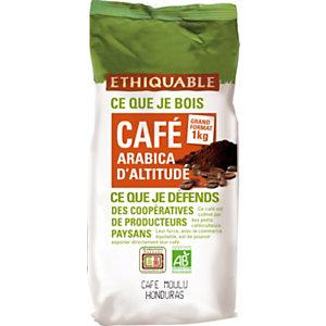 Ethiquable Café moulu Honduras Arabica Bio - sachet 1kg