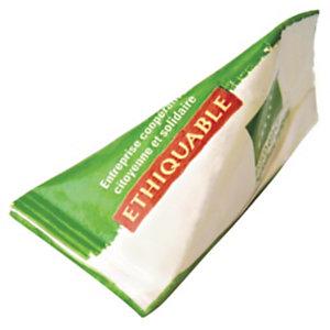Ethiquable Lot de 1000 berlingots de Sucre blond de canne en poudre du Paraguay - 4 g