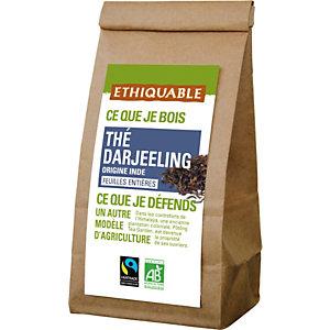 ETHIQUABLE Thé noir Earl Grey Darjeeling Bio en vrac - sachet 100g