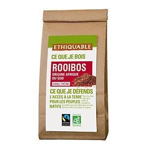 ETHIQUABLE Thé en vrac infusion Rooibos Bio d'Afrique de Sud - sachet 100g