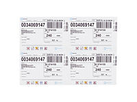 Etichette adesive stampabili extra resistenti