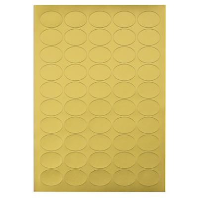 Etichette adesive stampabili in carta satinata oro MARKIN