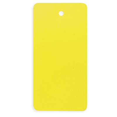 Etichette americane industriali gialle in PVC
