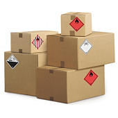 Etichette per il trasporto di materiali pericolosi
