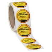 Etichette personalizzate con stampa in quadricromia