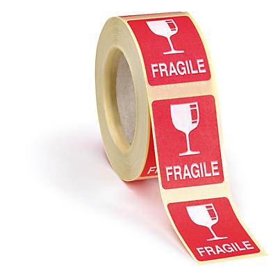 Etichette segnaletiche per confezioni piccole