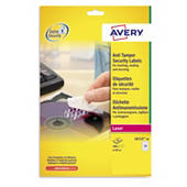 Etichette stampabili anti manomissione AVERY