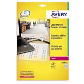 Etichette stampabili per cavi elettrici AVERY