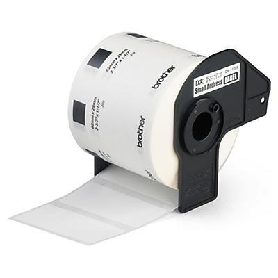 Etichette termiche pretagliate per stampante QL BROTHER