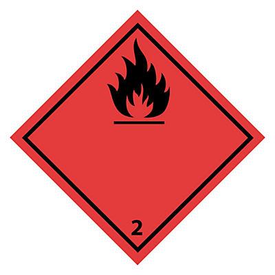 Etikett for farlig gods til vei- og lufttransport