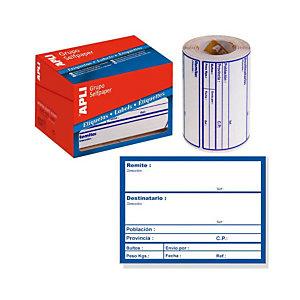 Etiquetas para envíos - Envío agencia