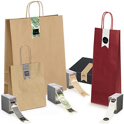 Étiquette cadeau avec message en anglais##Geschenketiket met boodschap in het Engels