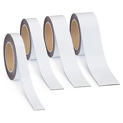 Étiquette magnétique effaçable en rouleau