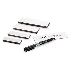 Étiquette magnétique prédécoupée