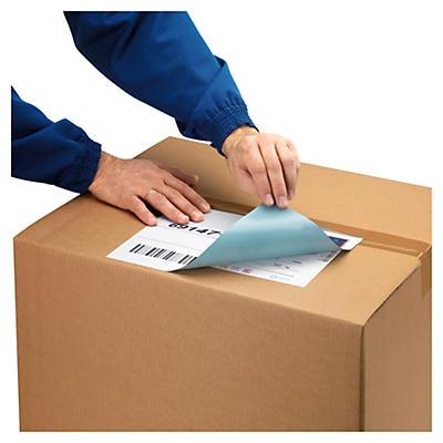 Étiquette opaque de masquage