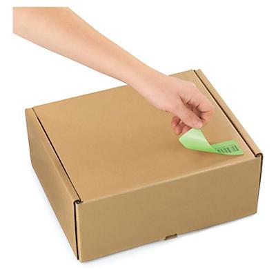 Etiquette papier couleur adhésif amovible