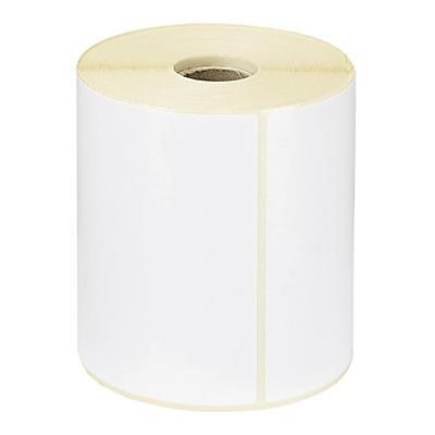 Étiquette papier thermique direct mandrin 25 mm RAJA