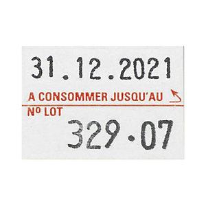 Étiquette pour pince à étiqueter PBDUO20