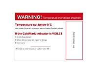 Étiquette de positionnement pour ColdMark®