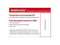 Positionierungsetikett für WarmMark®